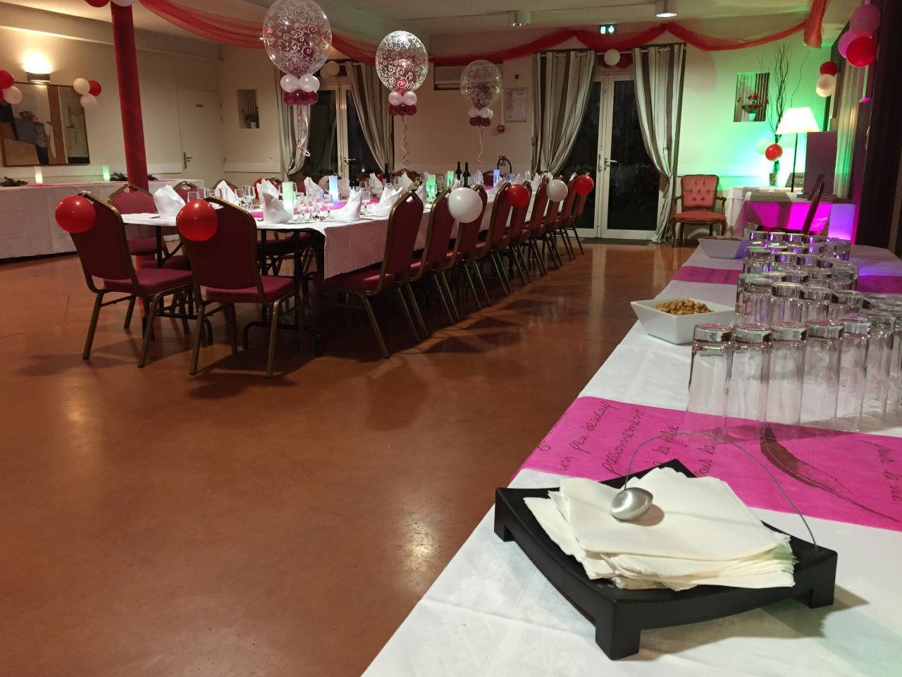Notre salle de banquet